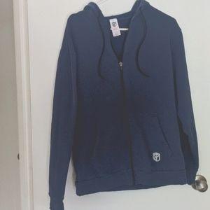 Born primitive blue logo sweatshirt